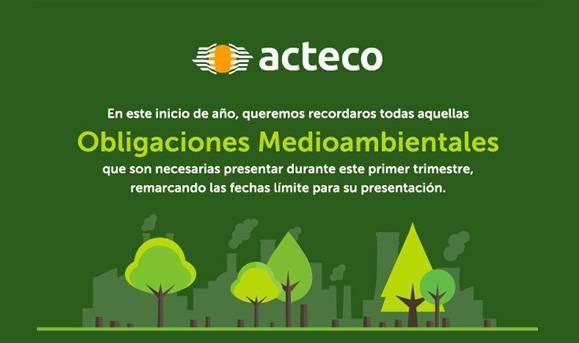 Obligaciones Medioambientales primer trimestre