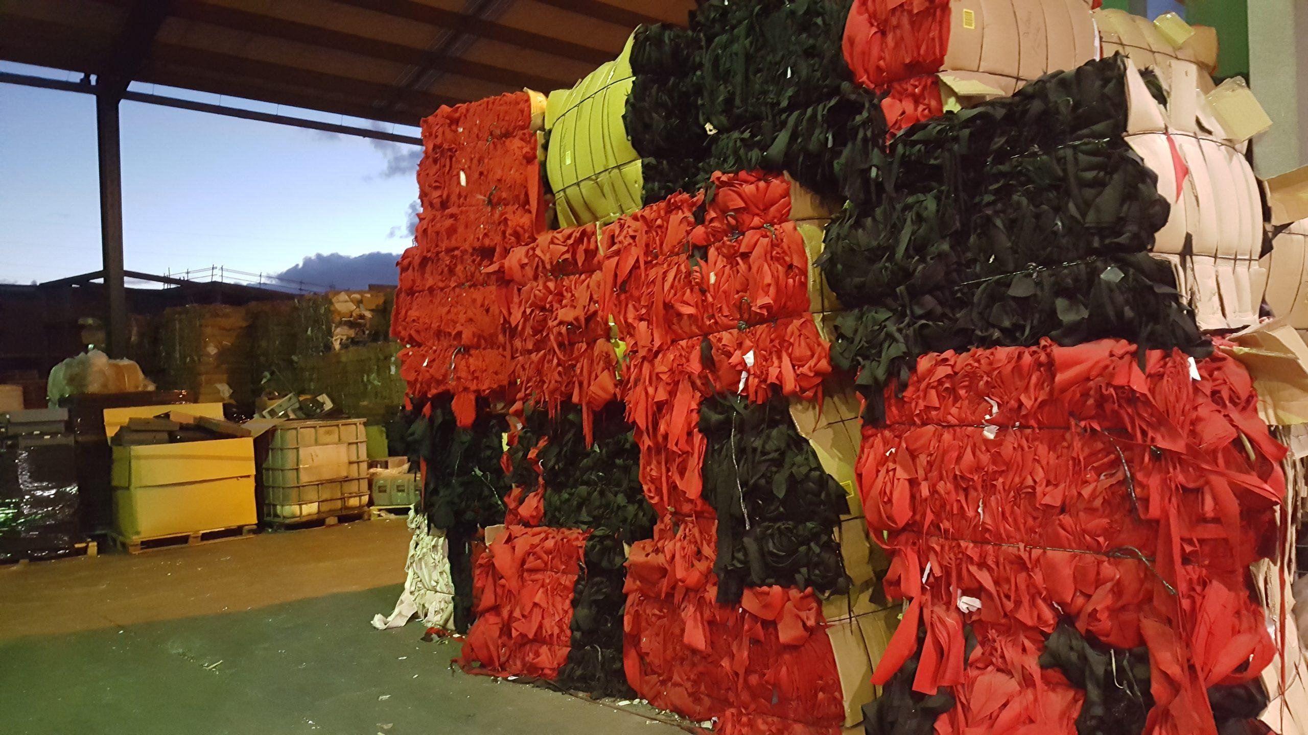 residuo textil