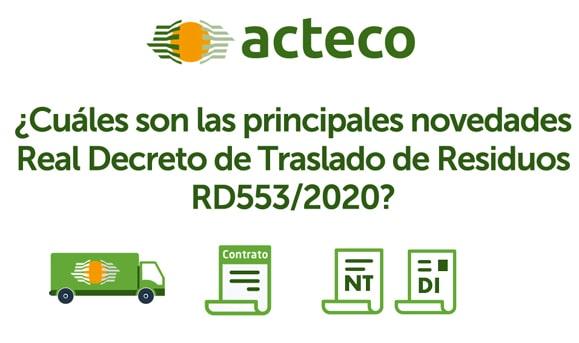 RD 553/2020 TRASLADO RESIDUOS