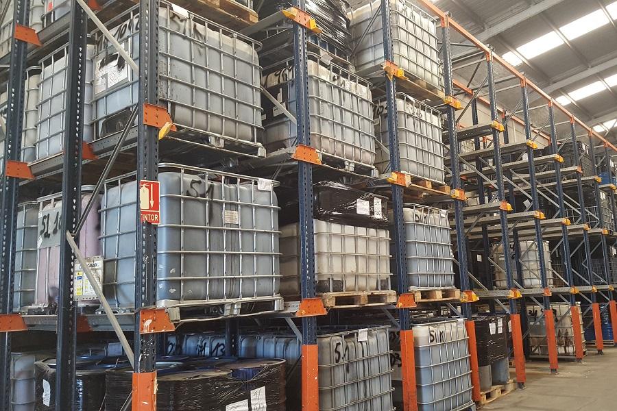 Almacén de residuos peligrosos en Náquera - Acteco