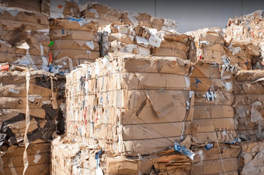 Gestión de Residuos de papel y cartón Acteco Náquera