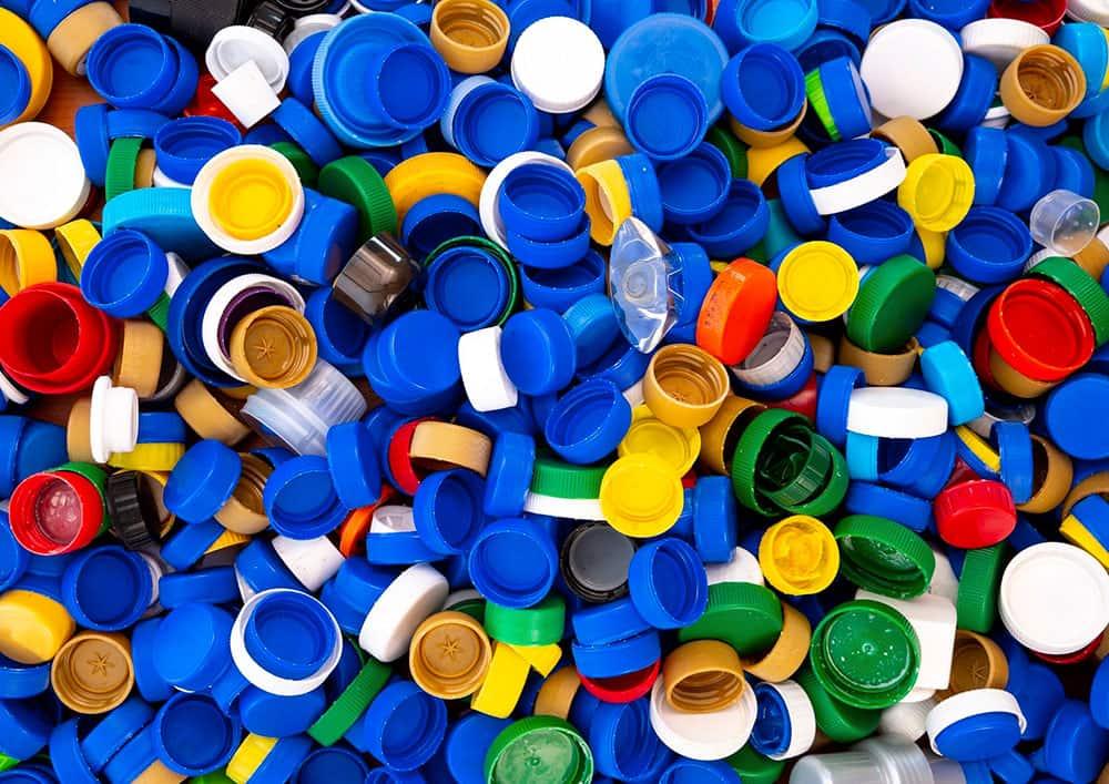Reciclaje de Tapones de plástico